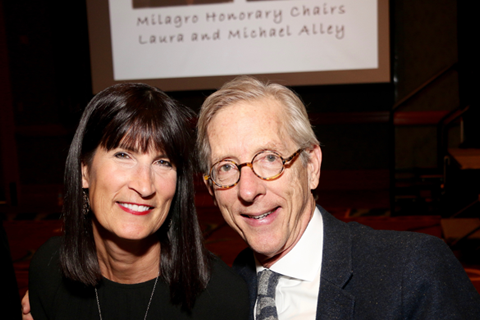 Milagro 2016 Honorary Chairs Laura and Michael Alley